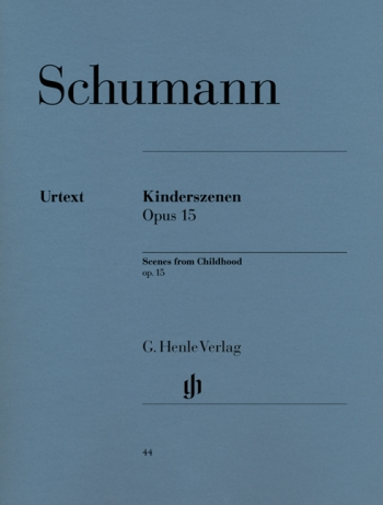 Kinderscenen: Scenes From Childhood: Op.15: Piano  (Henle Ed)