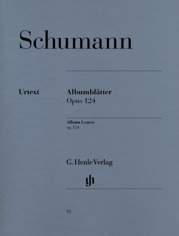 Albumblatter: Autumn Leaves: Op.124: Piano  (Henle Ed)