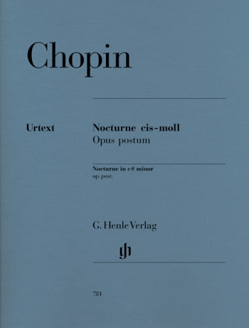 Nocturne C# Minor Posthumus: Piano (Henle)