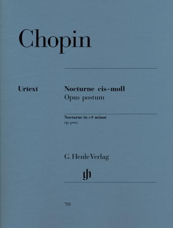 Nocturne C# Minor Posthumus: Piano (Henle)