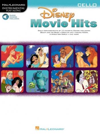 Disney Movie Hits: Cello: Book & CD