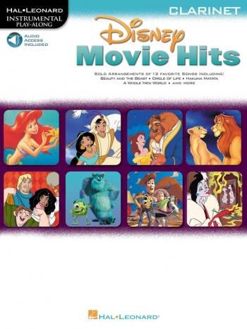 Disney Movie Hits: Clarinet: Book & Audio Download