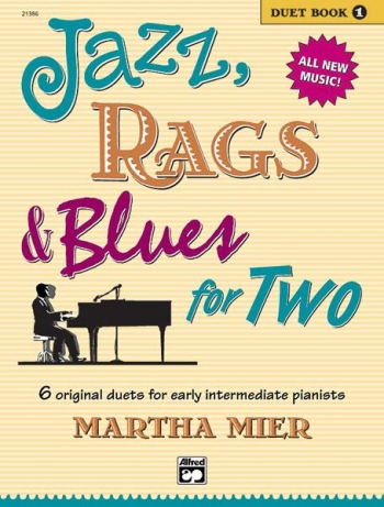 Jazz Rags & Blues For Two Book 1 Piano Duet (mier)