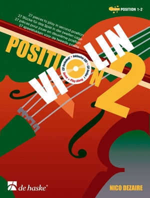 Position Two (2): Violin Book & Cd (Dezaire)