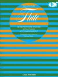 Solos For Flute 36 Repertoire Pieces Flute & Piano (Peck)