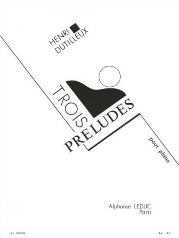 Preludes 3: Piano (Leduc)