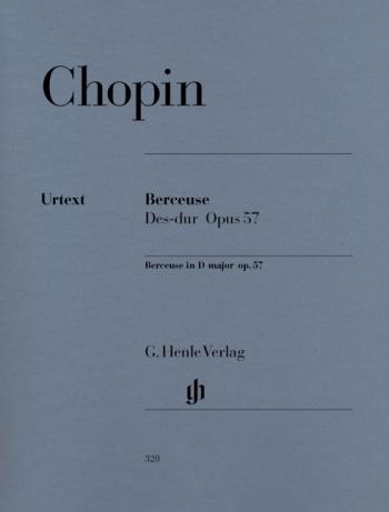Berceuse Db: Op57: Piano  (Henle)