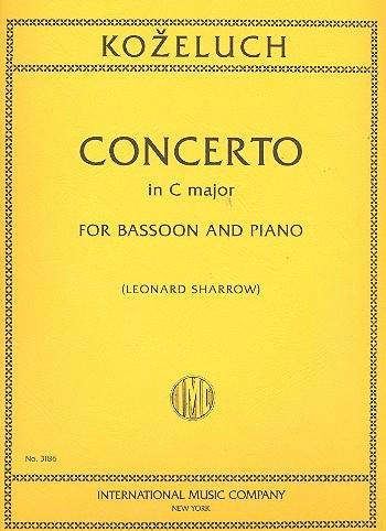 Bassoon Concerto C Major: Bassoon & Piano (International)