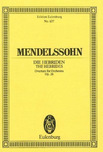 Hebrides Overture: Op26 : Miniature Score