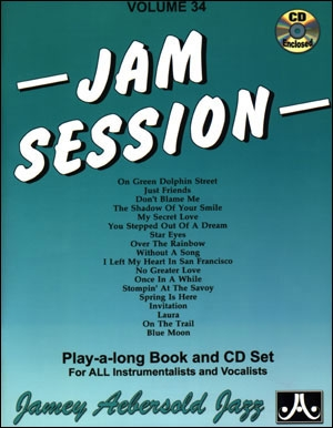 Aebersold Vol.34: Jam Session: All Instruments: Book & CD
