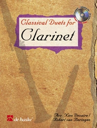 Classical Duets For Clarinet: Book & CD  (Dezaire)