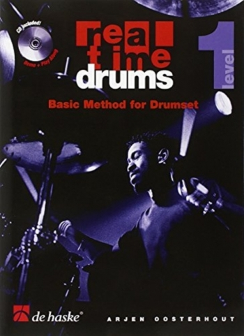 Real Time Drums: Level 1: Basic Method For Drumset