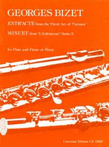 Entracte and Minuet Flute (Universal)