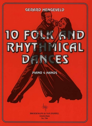 10 Folk and Rhythmical: Piano Duet  4hands