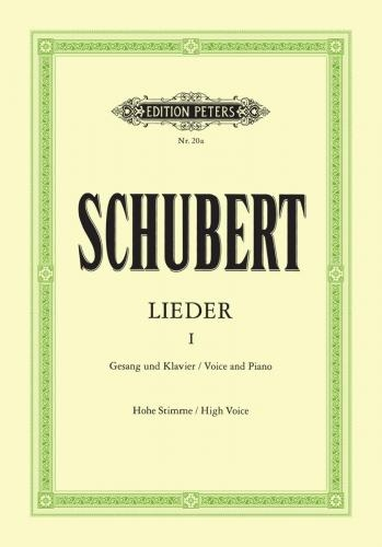 Lieder (Songs) Vol.1 92 Songs High Voice & Piano (Peters)