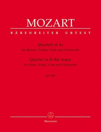 Mozart: Piano Quartet K493 Eb: Piano,violin,viola and Cello