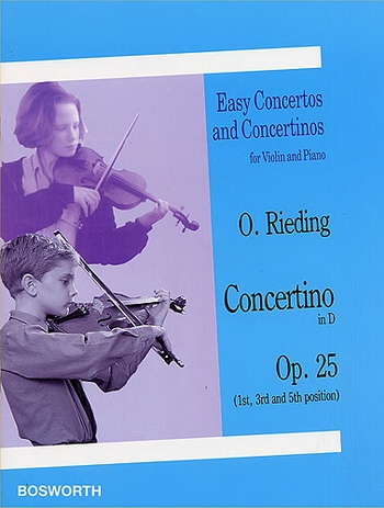 Concertino D Op.25: Violin & Piano (Bosworth)