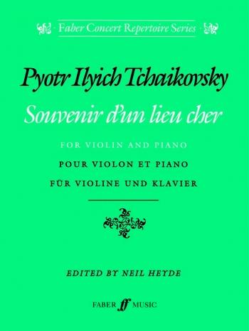 Souvenir D'un Lieu Cher: Violin (Faber)