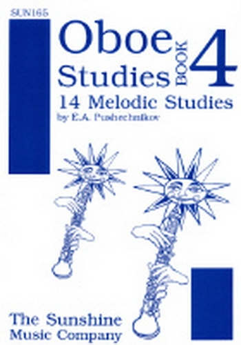 Oboe Studies:  Book 4: 14 Melodic Studies