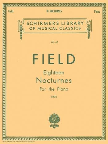 18 Nocturnes: Piano (Schirmer)