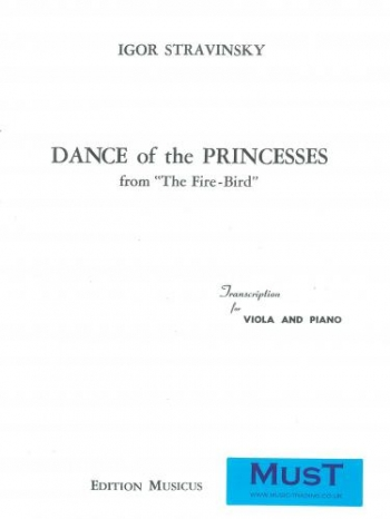 Dance Of The Princess Fromthe Firebird: Viola and Piano