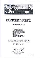 Concert Suite: Eb Horn Or F Horn and Piano