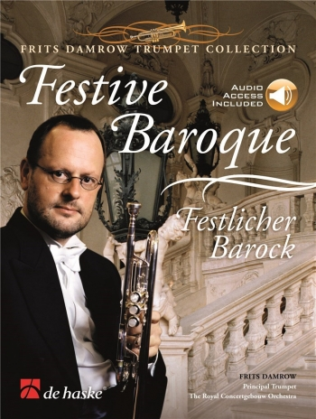Festive Baroque: Trumpet & Piano: Book & Cd