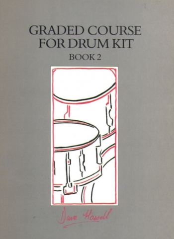 Graded Course For Drum Kit Book 2: Drums: Book & Cd (Hassell)