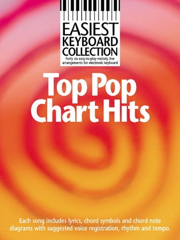 Easiest Keyboard Collection Top Pop Chart Hits