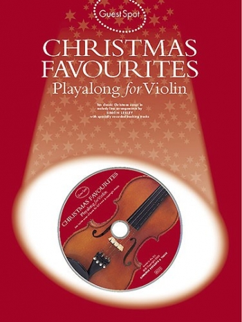 Guest Spot: Christmas Favourites: Violin: Book & CD