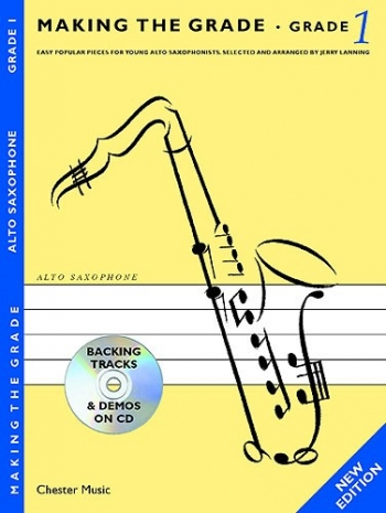 Making The Grade 1: Alto Sax: Bk&cd