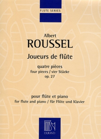 Joueurs De Flute: Op27: Complete: Flute & Piano (Durand)
