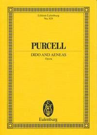 Dido and Aeneas Opera: Miniature Score