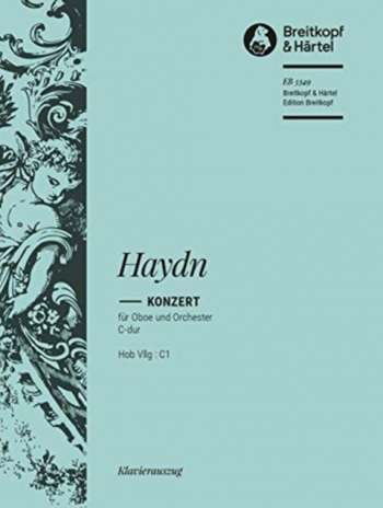 Concerto: C: Hob7G: C1: Oboe & Piano (Breitkopf)