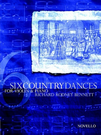 6 Country Dances: Violin and Piano
