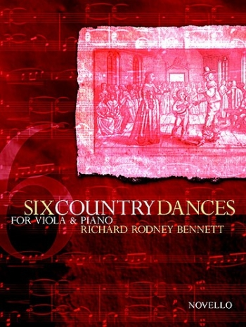 6 Country Dances: Viola and Piano