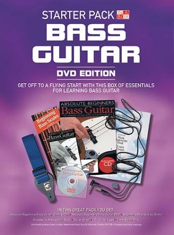 Bass Guitar Starter Pack - Dvd Edition