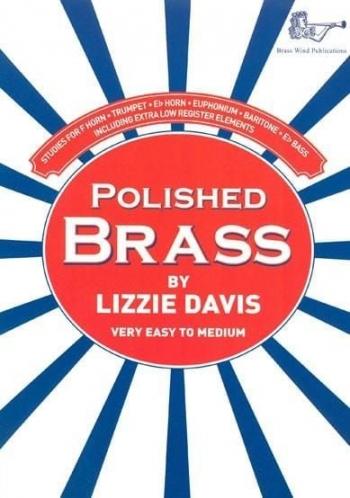 Polished Brass: Brass Treble Clef  (Davis)