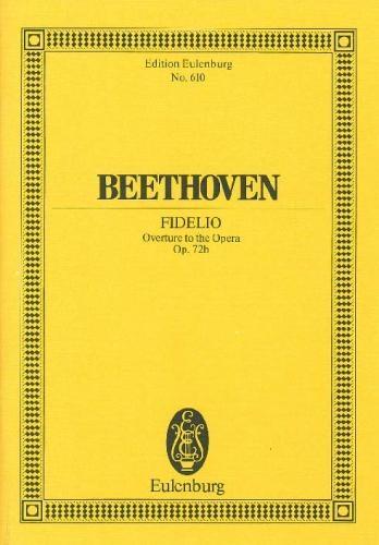 Fidelio Overture Op72b: Miniature Score