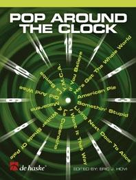 Pop Around The Clock: Alto Sax: Bk&cd