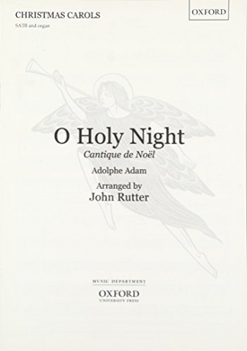O Holy Night (X371) Vocal SATB (OUP