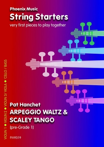 String Starters: Arpeggio Waltz and Scaley Tango: String Quartet: Score and Parts (Hanchet)