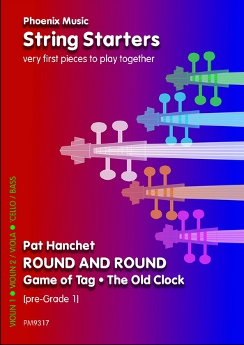 String Starters: Round and Round: String Quartet: Score and Parts (Hanchet)