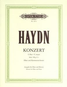 Concerto: C Hob7G: C1: Oboe & Piano (Peters)