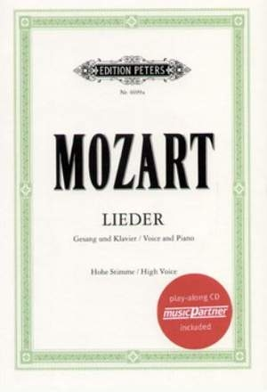 Lieder: Album Of 50 Songs: High Voice (Peters)