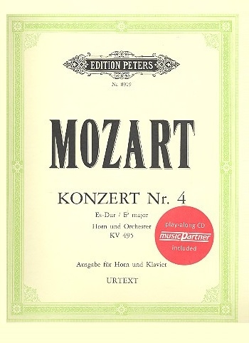 Horn Concerto: No 4: Eb: Kv495: French Or Tenor Horn (Peters)