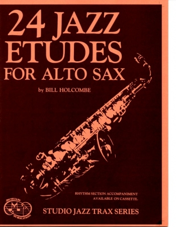 24 Jazz Etudes: Alto Saxophone: Part (Holcombe)