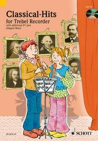 Classical Hits: Treble Recorder: 1 or 2 Recorders