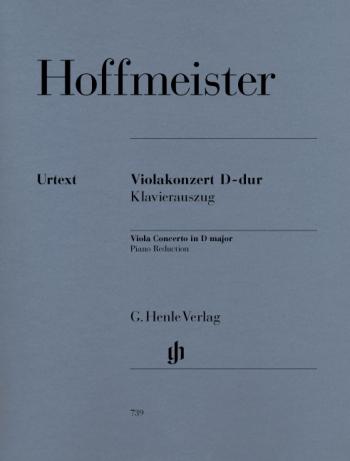Concerto D Major: Viola And Piano  (Henle)