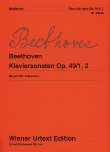 Piano Sonatas G Major & G Minor: Op49 (Wiener Urtext)